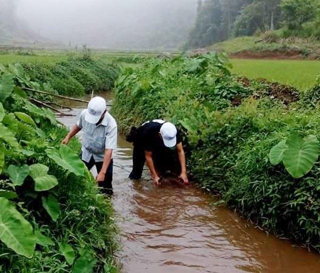Ngoài giờ dạy, các thầy phải ra suối xúc cá hay vào rừng hái măng để cải thiện bữa ăn