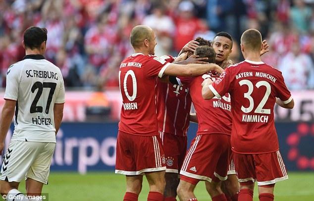 Bayern Munich đã sẵn sàng cho cuộc đua vô địch Bundesliga