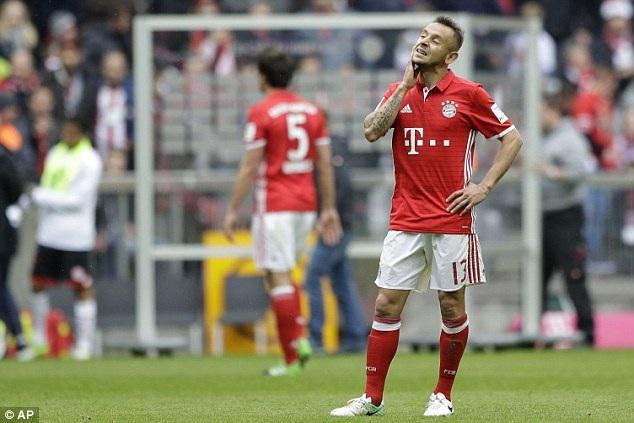 Bayern Munich thi đấu dưới sức ở trận đấu với Mainz 05