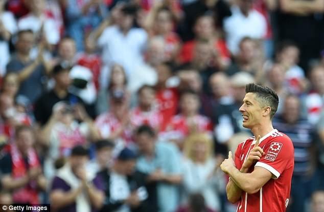 Niềm vui của Lewandowski