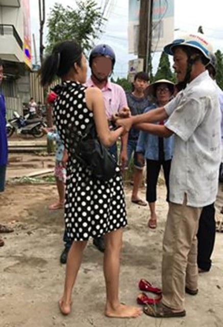 Hình ảnh đăng trên facebook Trọng Nhã cho rằng bắt cóc trẻ em để bán qua Trung Quốc