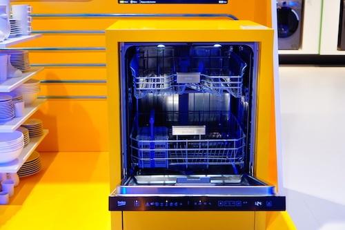 Chiếc máy rửa bát được Beko đầu tư mạnh mẽ về công nghệ thông minh.