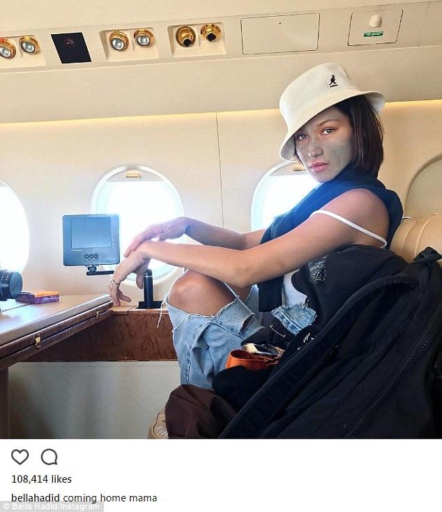Bella khoe kiểu tóc mới trên trang Instagram và được nhiều fan khen ngợi.