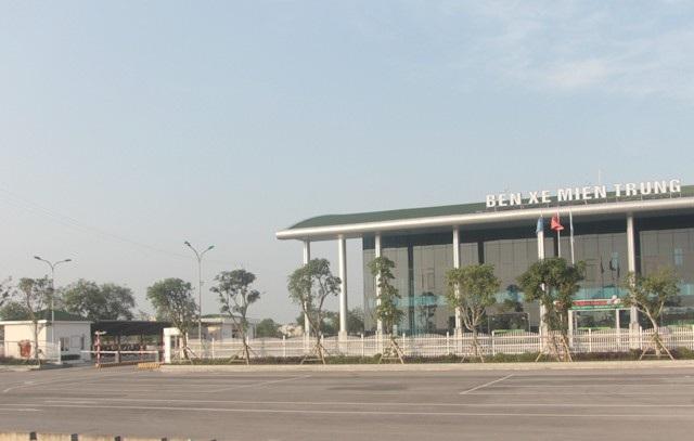 Bến xe Miền Trung được đầu tư gần 100 tỷ đồng, quy mô phục vụ mỗi ngày từ 800-1.000 xe xuất bến