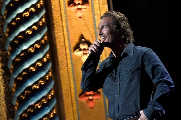 Matthew McConaughey hiện tại, ở tuổi 48