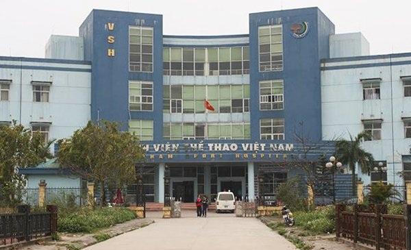 Bệnh viện Thể thao Việt Nam (Ảnh: Vietnamnet).
