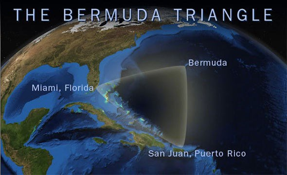 Tam giác quỷ này là vùng biển tạo thành giữa 3 đỉnh Florida, Puerto Rico và quần đảo Bermuda, vốn vô cùng nổi tiếng kỳ bí, với hàng trăm vụ mất tích không lời giải đáp của tàu thuyền và máy bay qua lại đây.