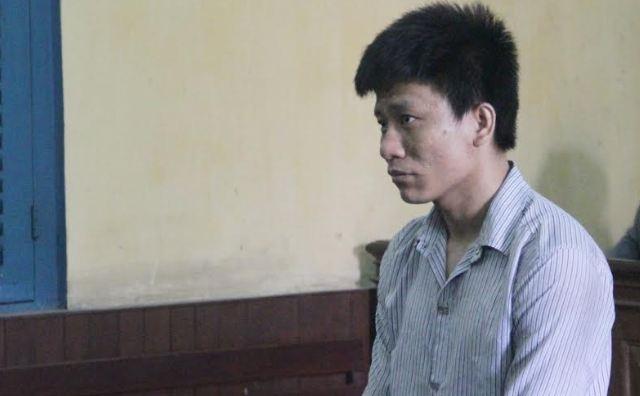 Bị cáo Níc tại phiên tòa.
