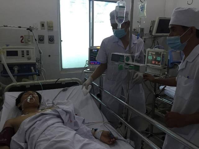 Anh Tiến hiện đang được điều trị tại Bệnh viện Quân y 121 Cần Thơ.