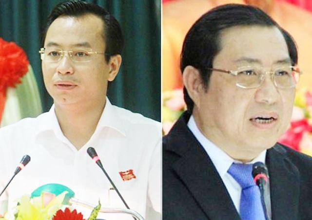 Bí thư Đà Nẵng Nguyễn Xuân Anh và Chủ tịch Đà Nẵng Huỳnh Đức Thơ.
