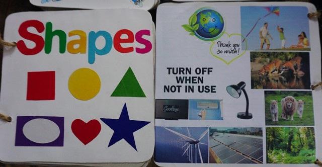 Những thông điệp bảo vệ môi trường được khéo léo lồng ghép vào cuốn sách nhằm nâng cao nhận thức của người đọc về vấn đề môi trường