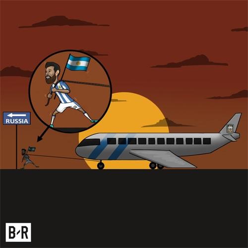 Messi làm tất cả đã giúp Argentina tới Nga