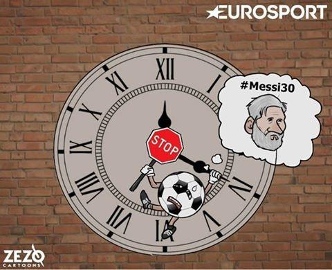 Có lẽ, đã tới lúc Messi mong thời gian ngừng lại khi anh bước vào tuổi băm