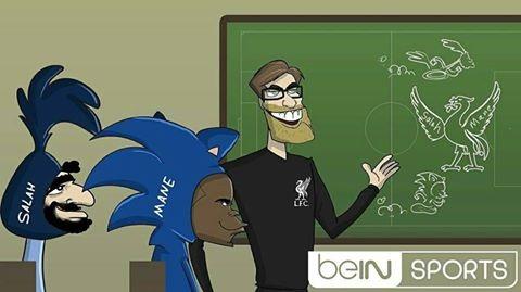 Salah và Mane là đôi cánh của Liverpool