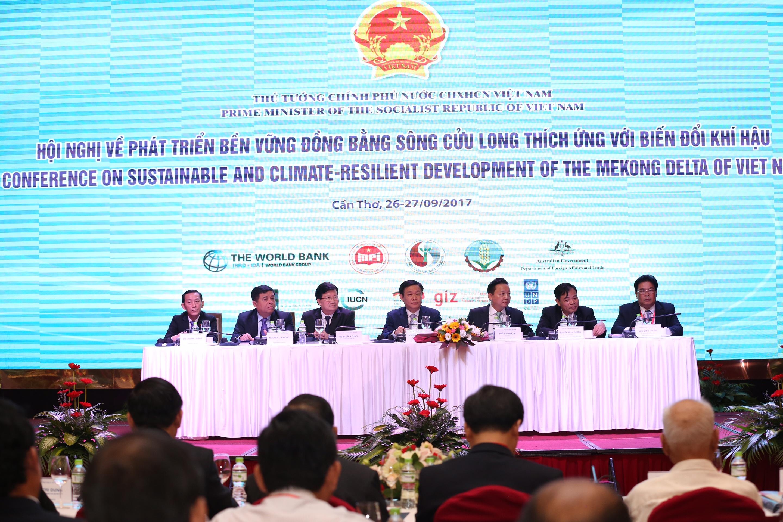 Hội nghị về phát triển bền vững ĐBSCL thích ứng với biến đổi khí hậu
