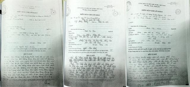 Lời khai của nhân chứng với cơ quan Công an về việc bà Lụa bị chồng cũ dùng dao khống chế ép buộc viết giấy nhận nợ 2,5 tỷ đồng nhưng không được toà sơ thẩm và phúc thẩm để ý đến.