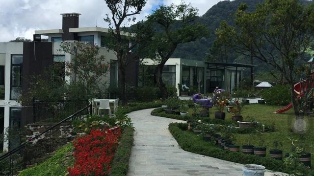 Biệt thự Mai Chi được cơ quan chức năng cho là có liên quan đến Trịnh Xuân Thanh trên đỉnh núi Tam Đảo