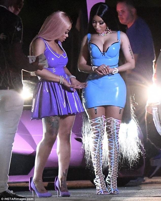 Blac Chyna sẽ xuất hiện trong MV mới của Rapper Nicki Minaj - Rake It Up