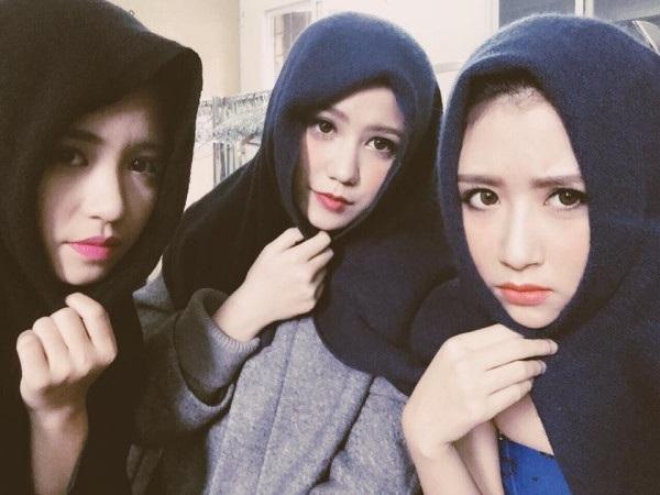 Từng có những tin đồn rạn nứt tình cảm nhưng 3 cô gái vẫn chứng minh tình cảm của mình bằng cách họ ở bên nhau