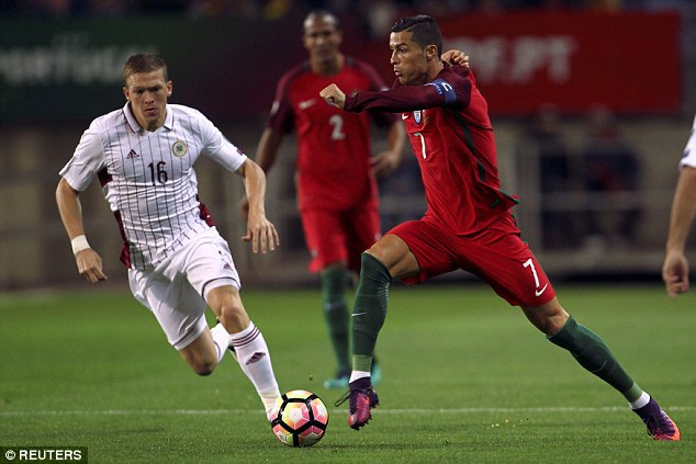 Bồ Đào Nha sẽ vùi dập Latvia?