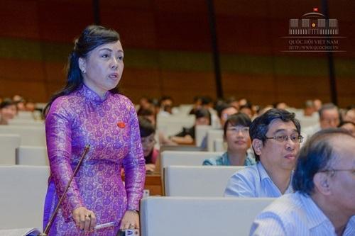 Bộ trưởng Nguyễn Thị Kim Tiến.