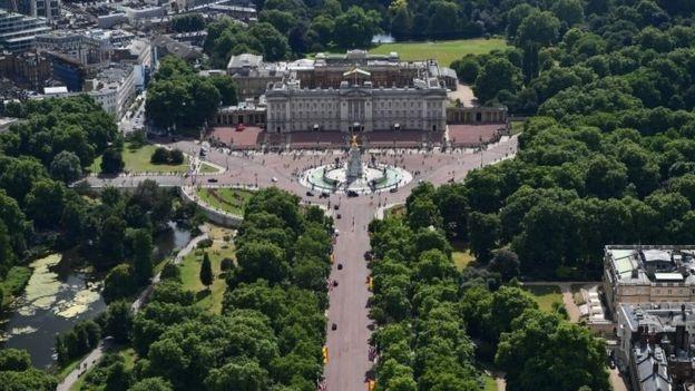 Cung điện Buckingham ở London, Anh (Ảnh: Getty)