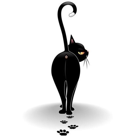 Việc đặt bàn chân sau lên vị trí lốt chân của chân trước khi di chuyển giúp mèo đi lại nhẹ nhàng, giảm tiếng động cũng như để lại ít dấu vết hơn.