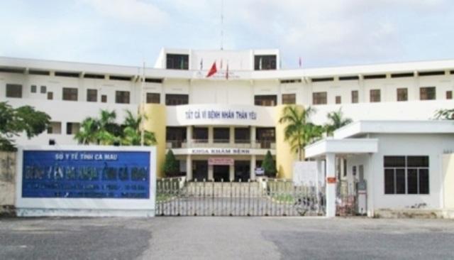 Bệnh viện Đa khoa tỉnh Cà Mau, nơi có nhiều lùm xùm về nhân sự và sai phạm tài chính.