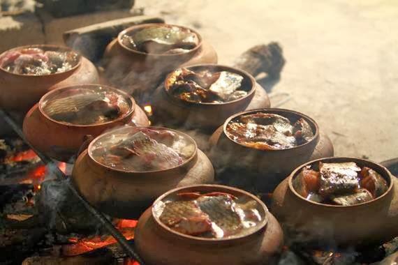 Cá kho làng Vũ Đại nổi tiếng khắp các tỉnh thành trong cả nước. Ảnh minh họa