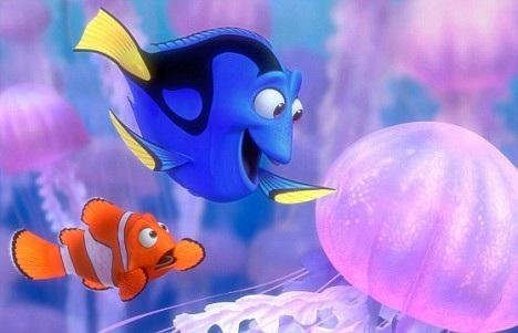 Đi tìm Nemo đã khắc họa một chú cá Dory (nhân vật chính) gặp các vấn đề về trí nhớ.