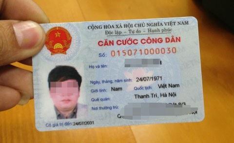 12 số trên thẻ Căn cước công dân sẽ là mã số định danh cá nhân của mỗi người dân- chìa khóa giải quyết thủ tục hành chính trong tương lai.