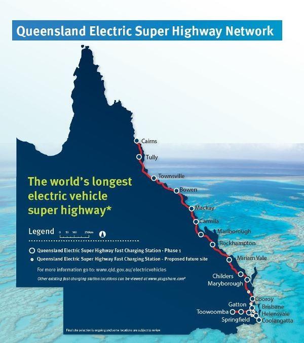 Australia làm đường cao tốc dài nhất thế giới cho xe chạy điện - 1