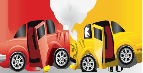 Vượt ở làn khẩn cấp, ôtô suýt ủi xe tự chế - 1