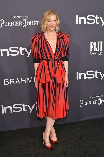 Cate Blanchett bổ sung nhiều loại vitamin giúp đẹp da và tóc