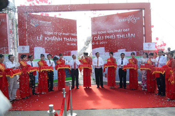 Lễ khánh thành cầu Phú Thuận Quận 7
