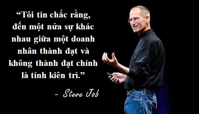 """Những câu nói truyền cảm hứng """"bất hủ"""" của Steve Jobs - 1"""