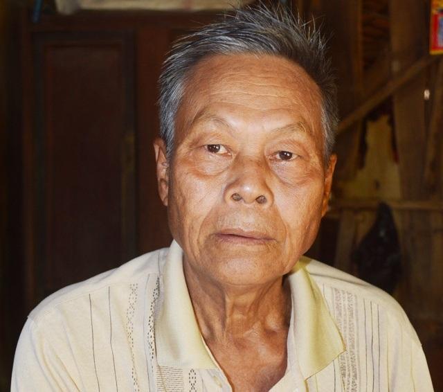 Cựu chiến binh Trương Văn Nhánh.