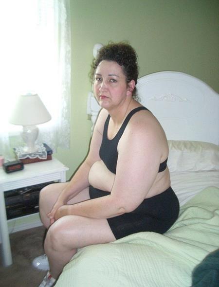Charlotte trước khi giảm cân