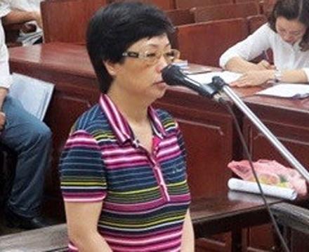 Châu Thị Thu Nga mong trả tự do cho 9 đồng phạm.