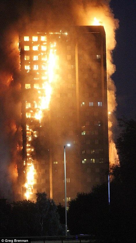 Hiện chưa rõ nguyên nhân dẫn đến vụ hỏa hoạn kinh hoàng này.