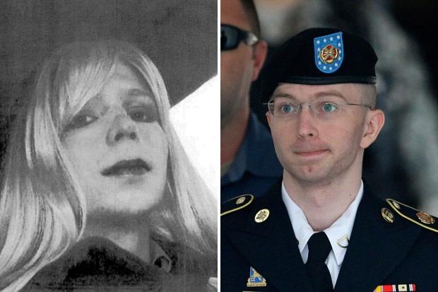 Chelsea Manning trước (phải) và sau khi chuyển giới (Ảnh: ABC News)