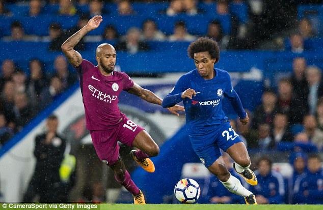 Man City đánh bại Chelsea ngay tại Stamford Bridge