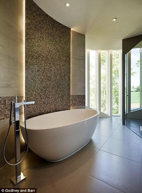 Phòng tắm thoáng mát và thanh lịch
