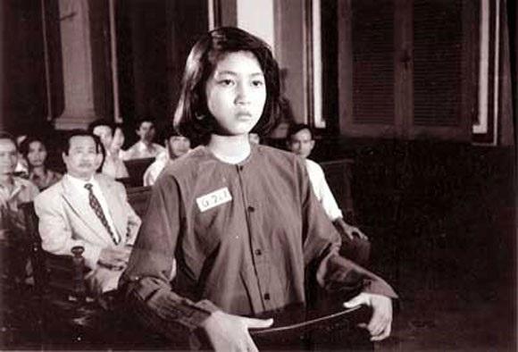NSƯT Thanh Thúy vào vai anh hùng Võ Thị Sáu năm 17 tuổi. Ảnh: TL.