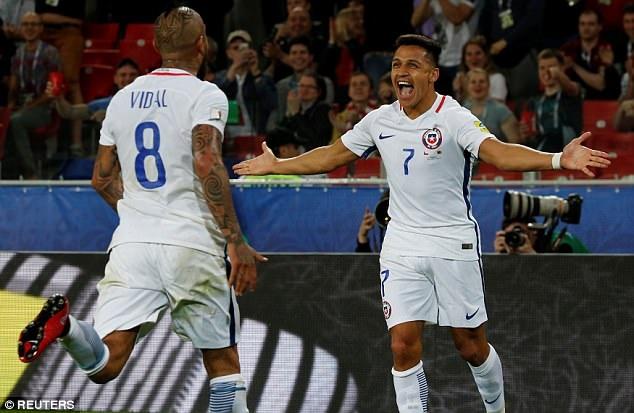 Chile sẽ là thuốc thử liều cao cho đội tuyển Đức