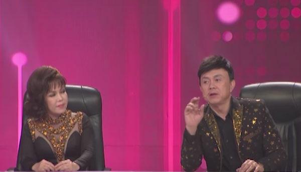 Nghệ sĩ Chí Tài (phải) chia sẻ bí mật phía sau ca khúc Dạ khúc của Quốc Bảo.
