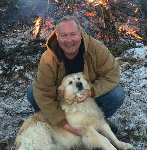 Ông Bob và Kelsey, chú chó đã cứu mạng của ông