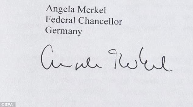 """""""Soi"""" chữ ký của các nguyên thủ G7 - 5"""