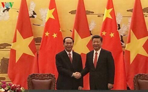 Chủ tịch nước Trần Đại Quang sẽ thăm Trung Quốc từ ngày 11-15/5/2017 theo lời mời của Tổng Bí thư, Chủ tịch Trung Quốc Tập Cận Bình.
