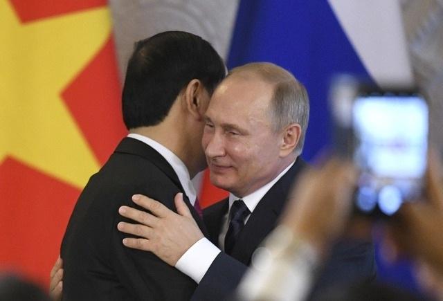 Sau hội đàm, lãnh đạo hai nước đã chứng kiến các lễ ký kết và gặp gỡ báo chí (Ảnh: Reuters)